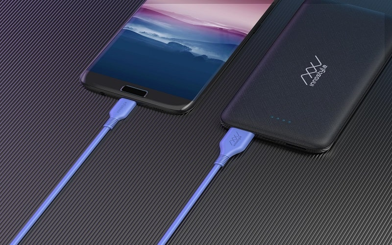 Cáp InnoStyle Jazzy USB-A To Micro 1.2M Cobalt