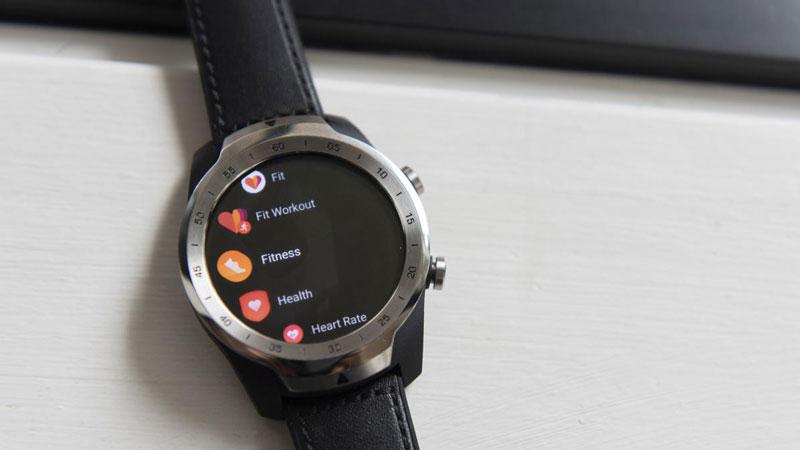 Google Fit trên đồng hồ thông minh Wear OS