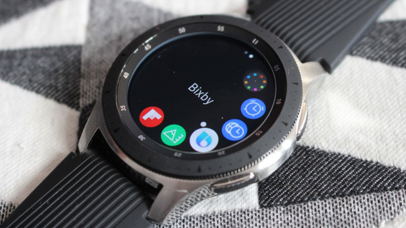 đánh giá Samsung Galaxy Watch Techwear Bixby