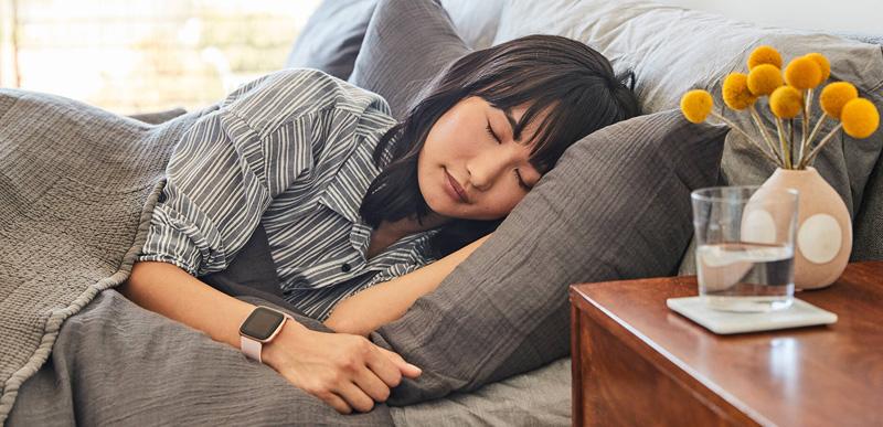 Tính năng theo dõi giấc ngủ của Fitbit Versa 2