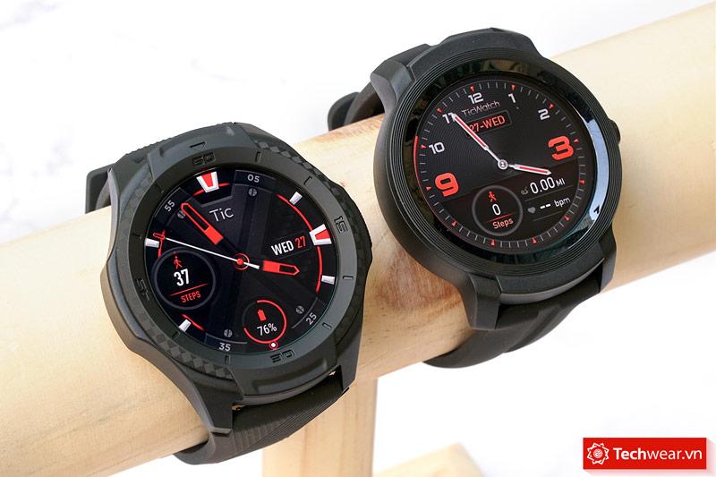 Đồng hồ thông minh TicWatch S2 và E2