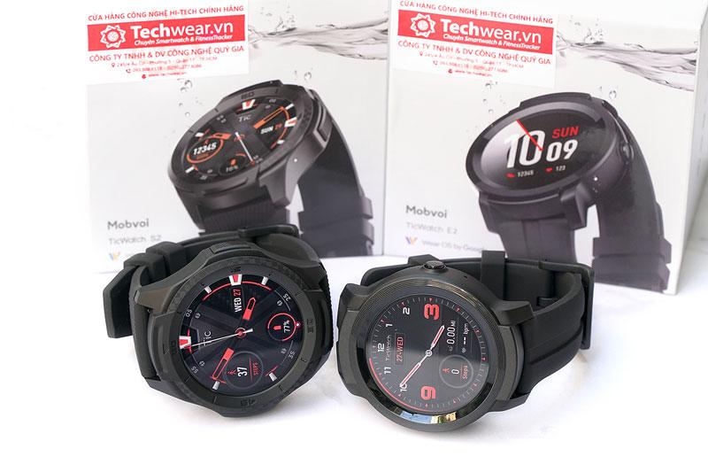 Đồng hồ Ticwatch S2 và Ticwatch E2