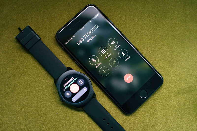 đồng hồ ticwatch kết nối iphone