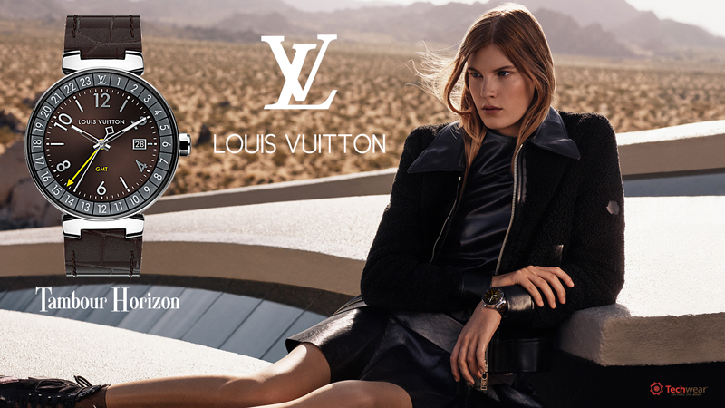 Louis Vuitton Tambour Horizon Graphite 42 (Brown)