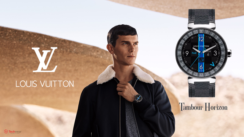Louis Vuitton Tambour Horizon Graphite 42 (Black)