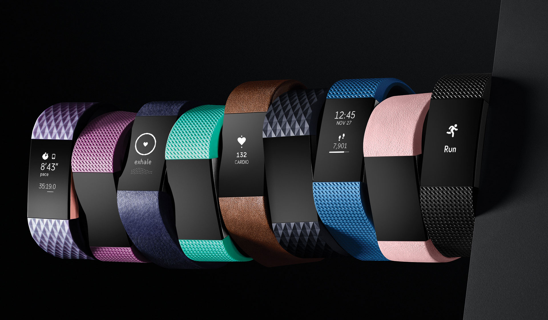 Fitness Tracker Tốt nhất: Fitbit Charge 2