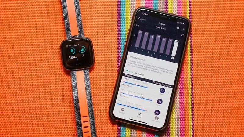 Tính năng theo dõi sức khỏe trên Fitbit Versa 2