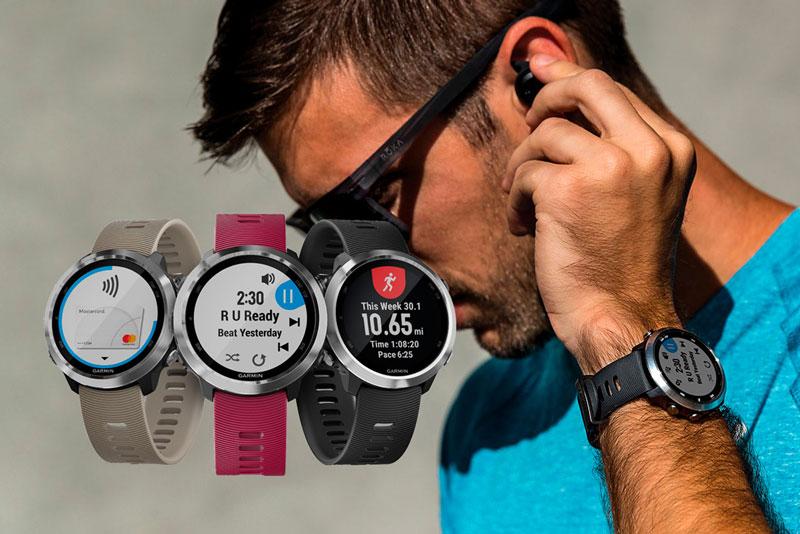 đồng hồ chạy bộ GPS Garmin Forerunner 645 Music