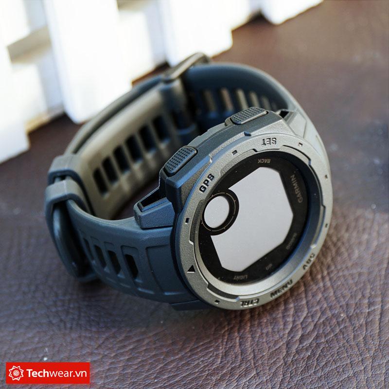 thông số Đồng hồ thể thao Garmin Instinct chuẩn quân đội Mỹ