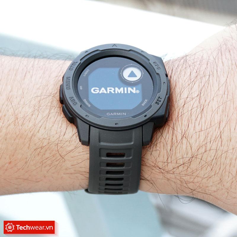 Đồng hồ thể thao Garmin Instinct chuẩn quân đội Mỹ Techwear.vn