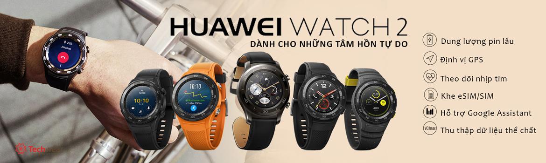 dong hồ thông minh huawei watch 2