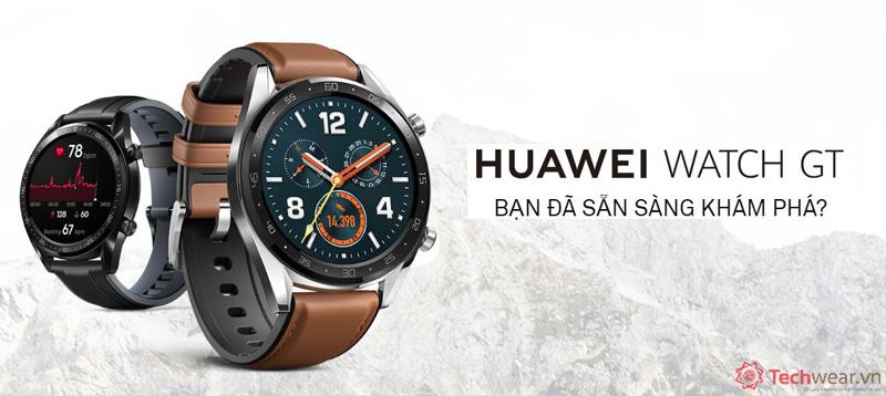 nơi bán đồng hồ Huawei Watch GT Techwear