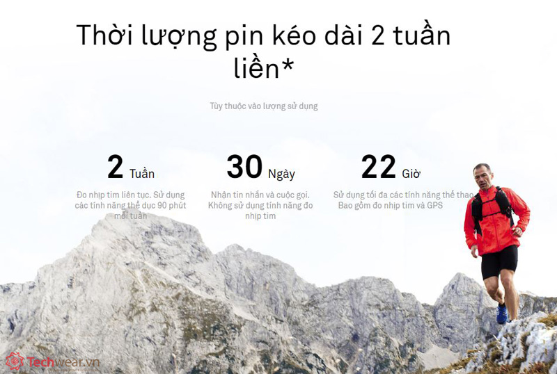 ĐỒng hồ thông minh Huawei Watch GT Techwear