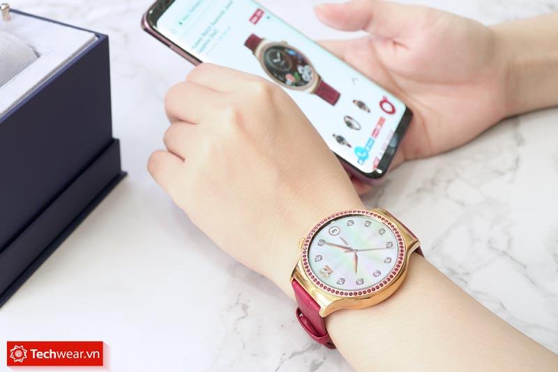 Đồng hồ Huawei Watch Swarovski Jewel Sapphire