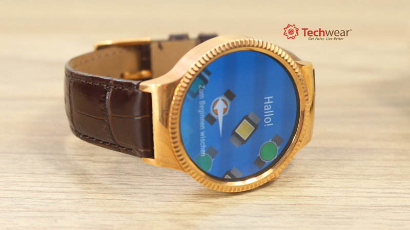 Huawei Watch - Rose Gold - Quai Da