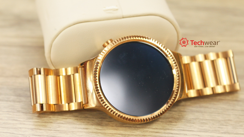 Huawei Watch - Gold Steel