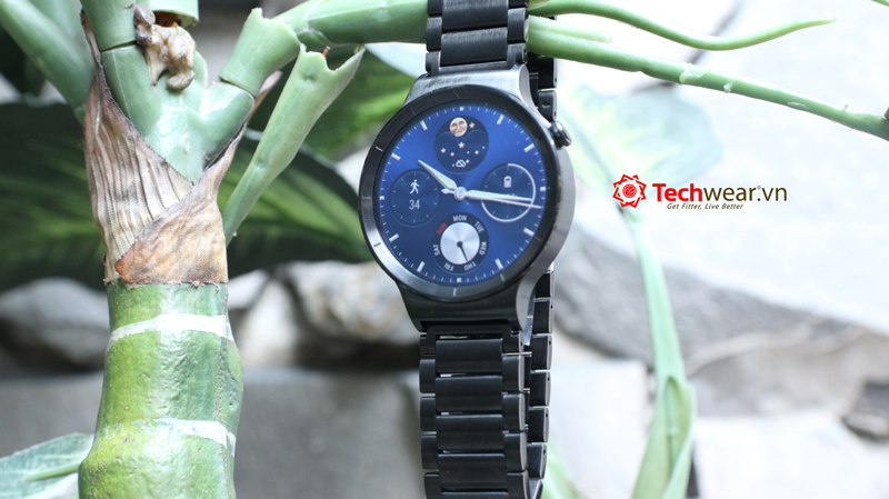 Huawei Watch - Black Steel