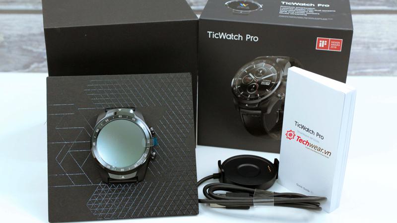 đồng hồ ticwatch pro chính hãng uy tín