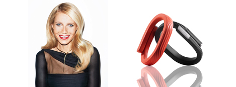 Minh tinh Gwyneth Paltrow & Jawbone UP