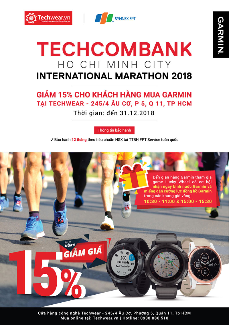 Techcombank Ho Chi Minh City Internation Marathon