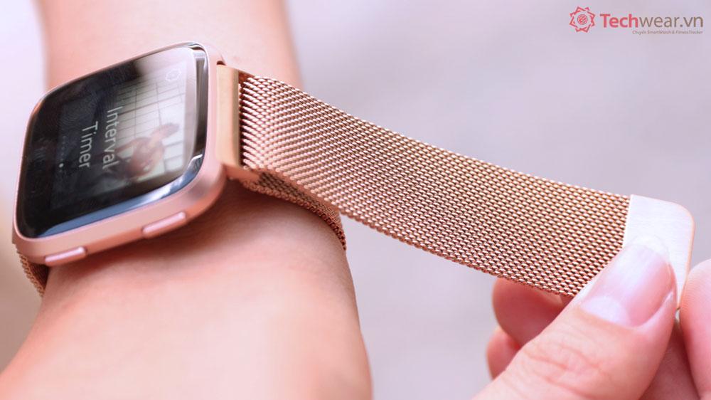 Dây théplưới Milanese đồng hồ  Fitbit Versa 2 | Fitbit Versa | Fitbit Versa Lite
