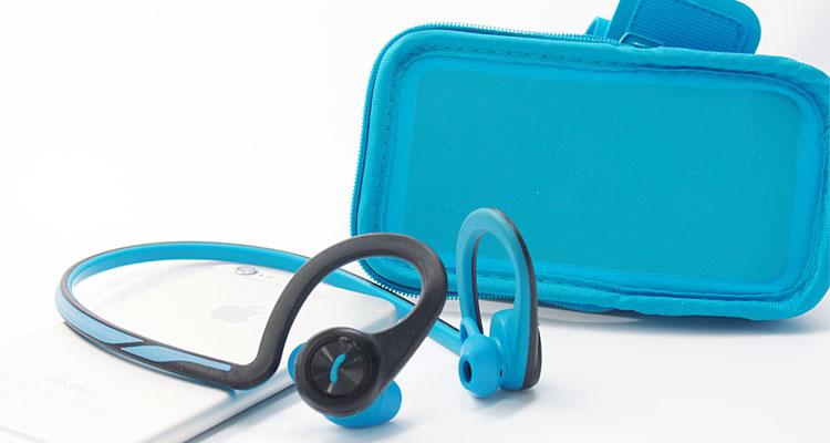 đập hộp plantronics backbeat fit xanh