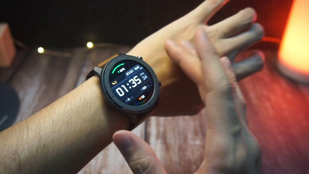 Thời lượng pin của Huami Amazfit GTR