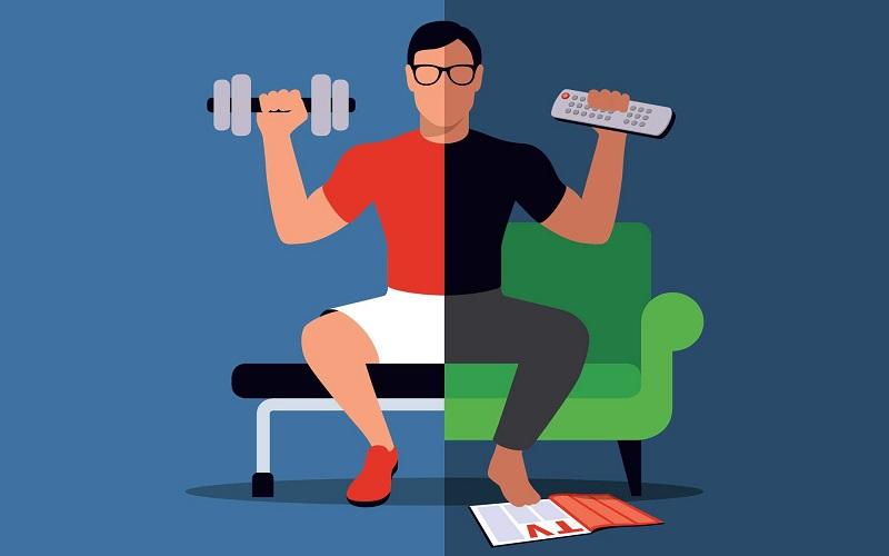 Tập thể dục đều đặn và xen kẽ với các hoạt động thường ngày
