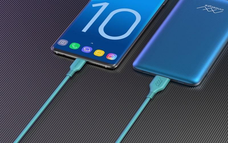 Cáp InnoStyle Jazzy USB-A To USB-C Teal