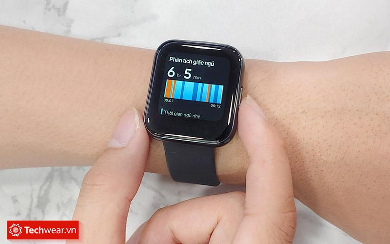 Theo dõi giấc ngủ trên Đồng hồ thông minh Realme Watch