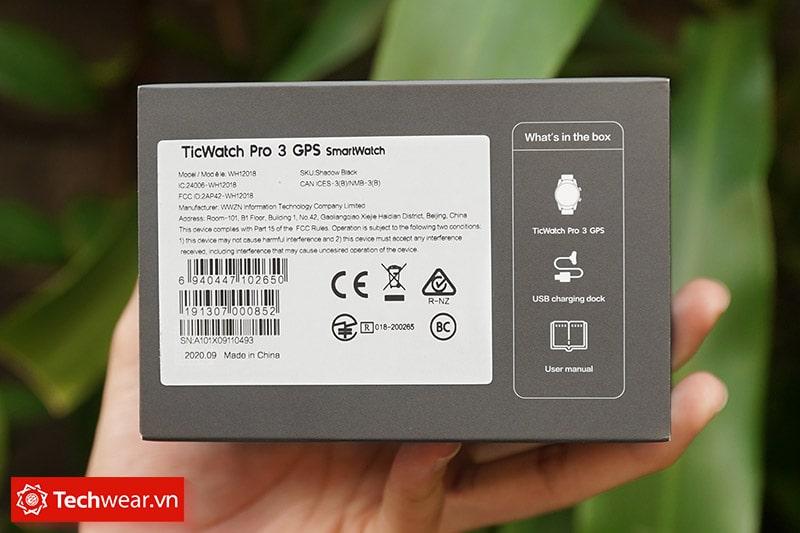 Đồng hồ thông minh Ticwatch Pro 3 GPS