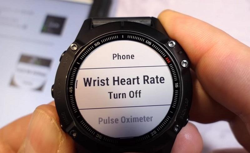 Đo nhịp tim trên Garmin Fenix 6