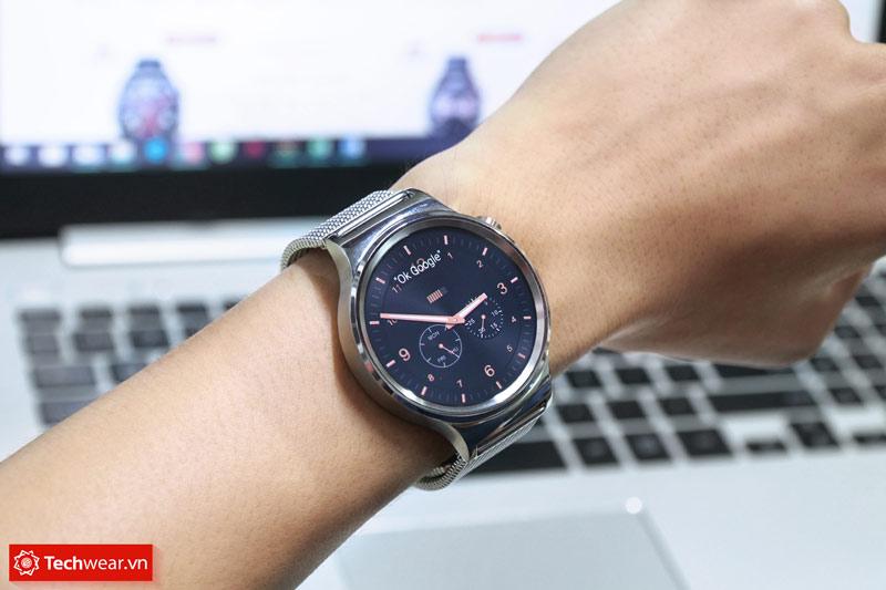 Đồng hồ thông minh Huawei Watch Steel