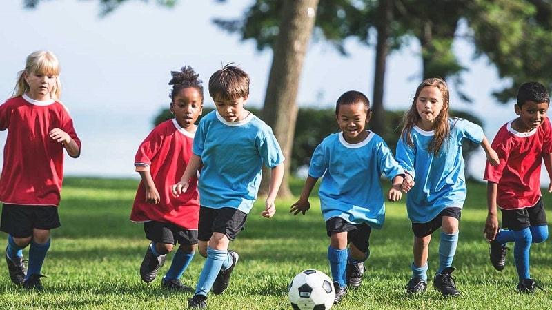 Luyện tập thể dục ở trẻ em