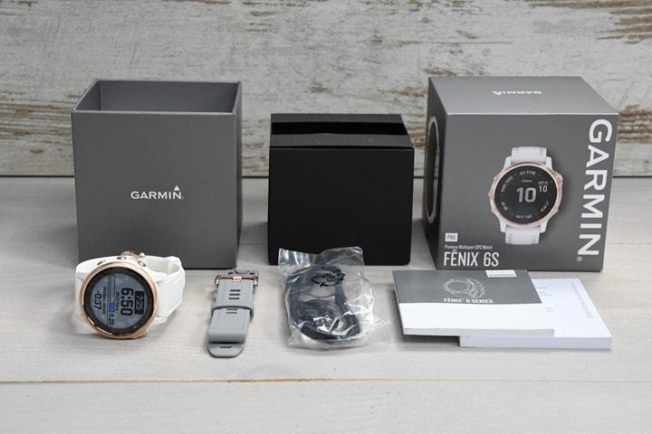 Mở hộp Garmin Fenix 6S phiên bản Pro
