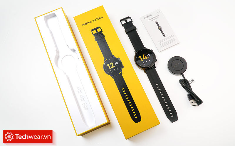 Mở hộp Đồng hồ Realme Watch S