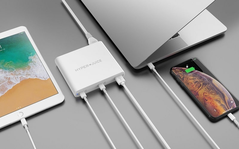 Sạc Macbook HyperJuice 87W Dual USB-C/QC4.0