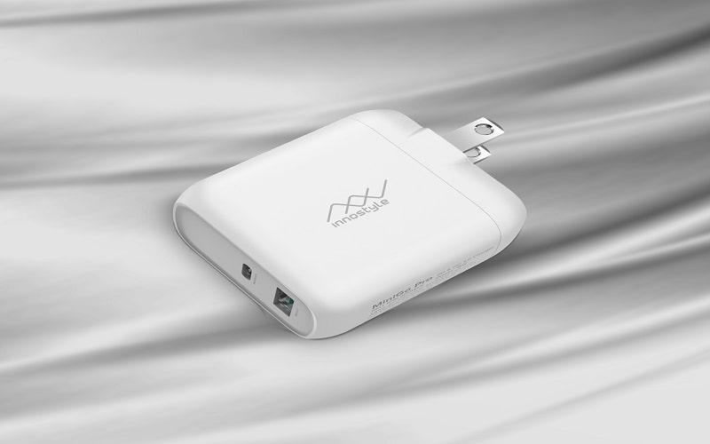 Sạc Nhanh InnoStyle MiniGo Pro Dual PD/QC3.0 18W Trắng