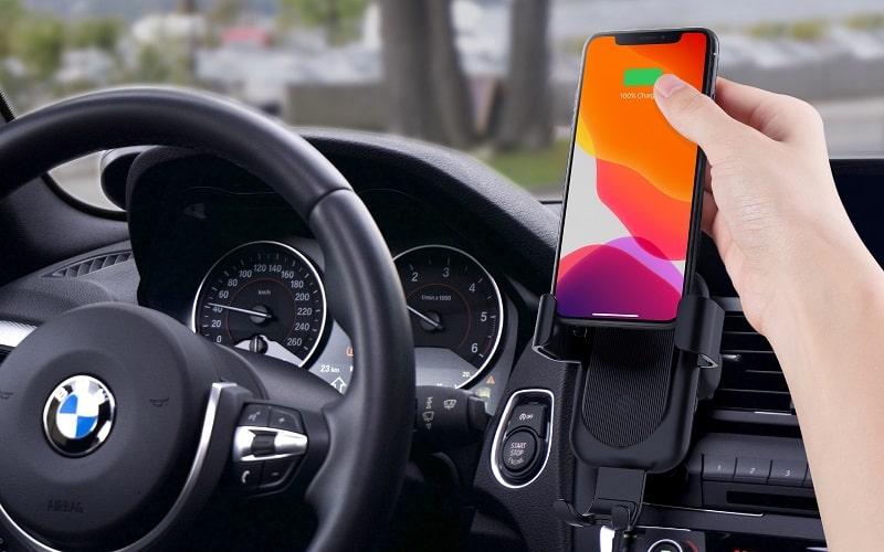 Sạc xe hơi không dây HyperJuice 15W Wireless Car Charger