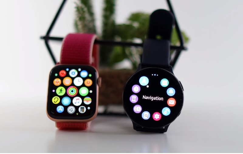 So sánh Samsung Galaxy Watch 2 Active vs Apple Watch Series 5