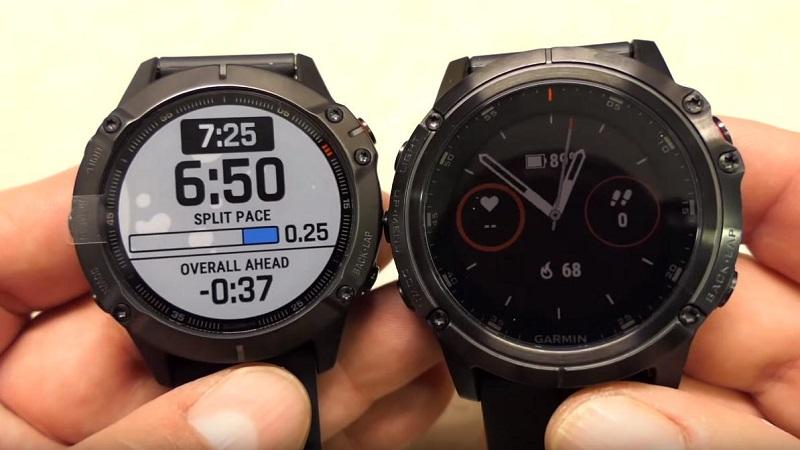 Đồng hồ Garmin Fenix 6 vs Garmin Fenix 5 Plus