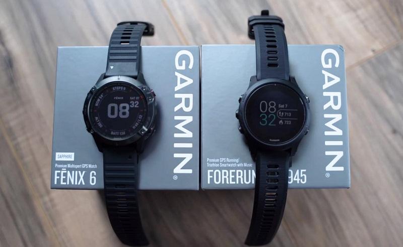 So sánh Garmin Fenix 6 và Garmin Forerunner 945
