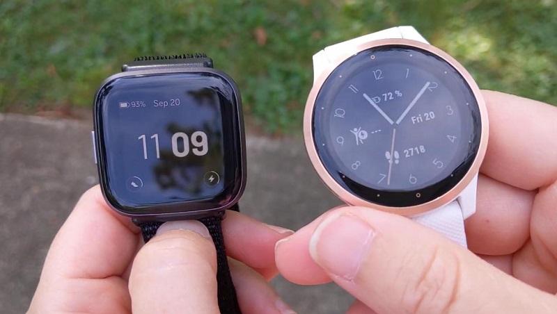 So sánh Garmin Vivoactive 4 vs Fitbit Versa 2