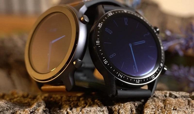 So sánh đồng hồ Huawei Watch GT 2 và Huami Amazfit GTR