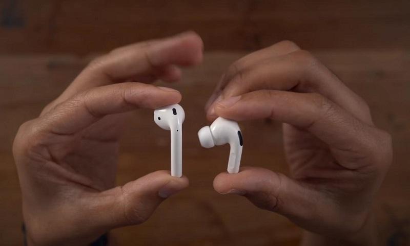 So sánh Tai nghe Airpods Pro và Airpods 2