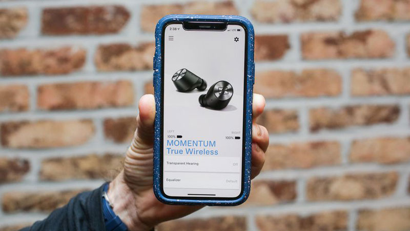 tai nghe bluetooth Sennheiser MOMENTUM True Wireless