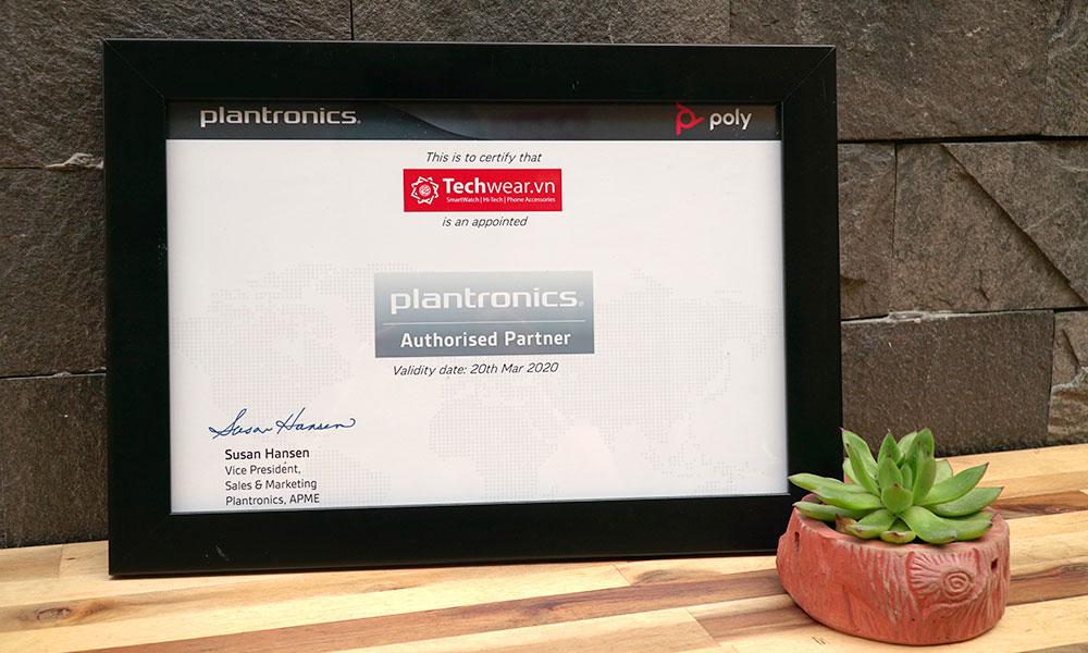 Techwear.vn - đại lý ủy quyền Plantronics chính hãng