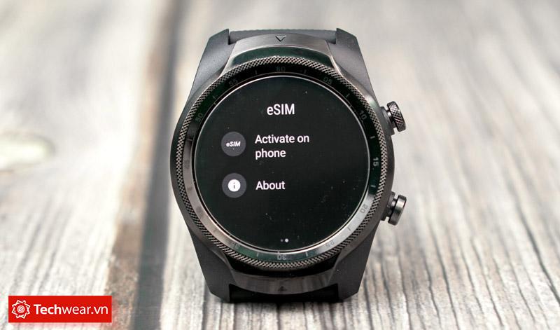Esim Đồng hồ thông minh Ticwatch Pro 4G/LTE