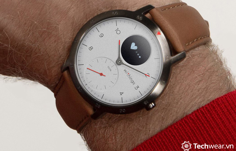 withings steel HR Sport techwear