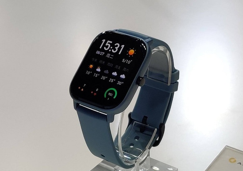 Thiết kế đồng hồ Huami Amazfit GTS